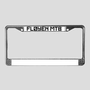 floyentekst_10inch License Plate Frame
