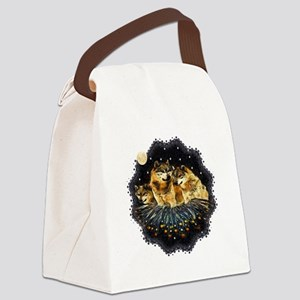 Sky Wolves Canvas Lunch Bag