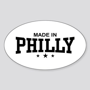 Made in Philly Oval Sticker