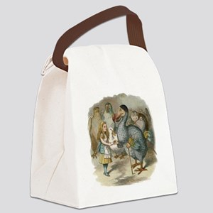 Alice and the Dodoworking Canvas Lunch Bag
