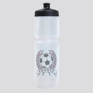 Soccer France Sports Bottle