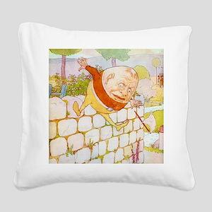 NURSERY humpty3_l Square Canvas Pillow