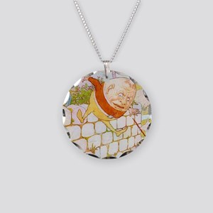 NURSERY humpty3_l Necklace Circle Charm
