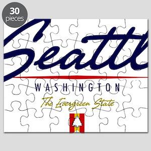 Seattle Script W Puzzle