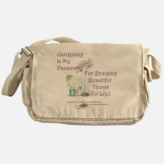 GardeningPassion1c Messenger Bag
