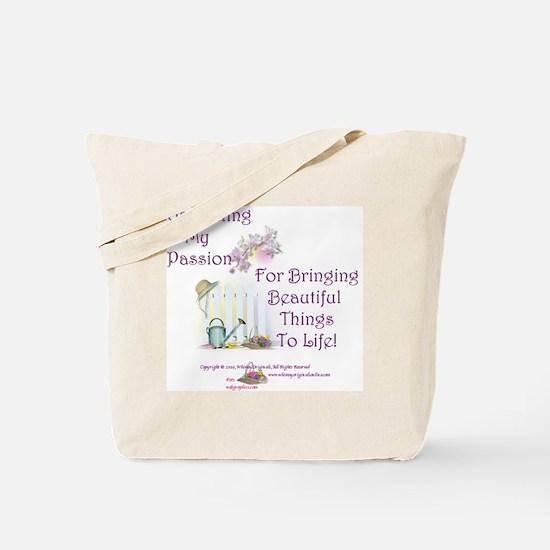 GardeningPassion1c Tote Bag