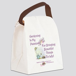 GardeningPassion1c Canvas Lunch Bag