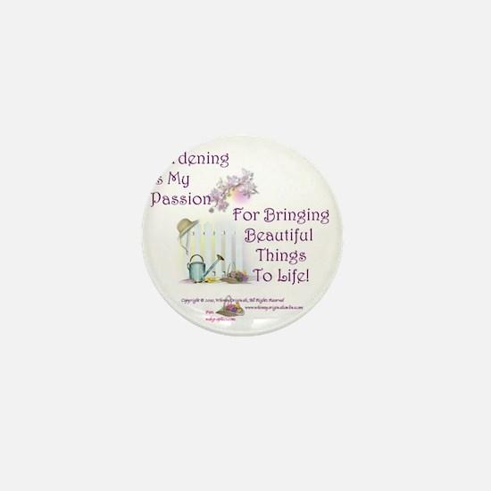 GardeningPassion1c Mini Button