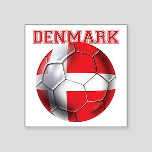 Denmark Soccer Sticker