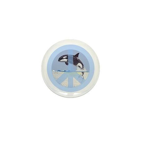 Orca Peace Mini Button (100 pack)