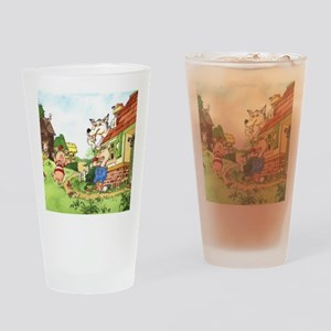 three-little-pigs Drinking Glass