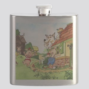 three-little-pigs Flask
