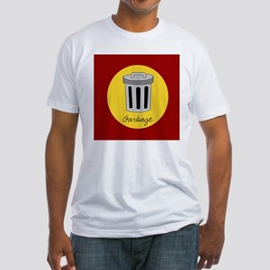 garbage Fitted T-Shirt