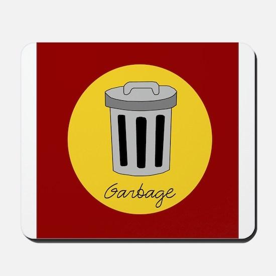 garbage Mousepad
