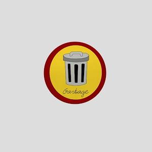 garbage Mini Button