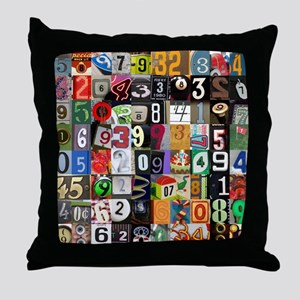 Places of Pi Throw Pillow