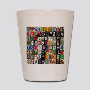 Places of Pi Shot Glass