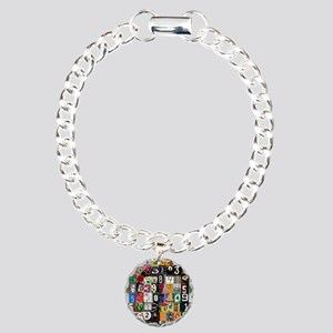 Places of Pi Charm Bracelet, One Charm