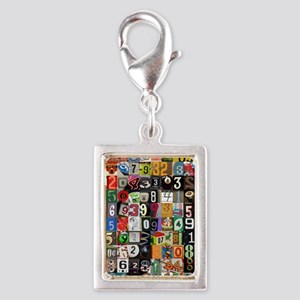 Places of Pi Silver Portrait Charm