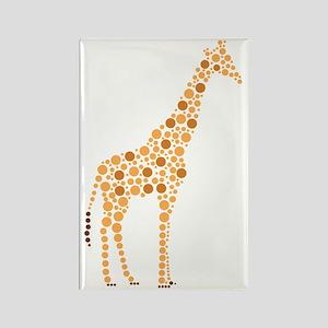 Giraffe Rectangle Magnet
