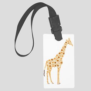 Giraffe Large Luggage Tag
