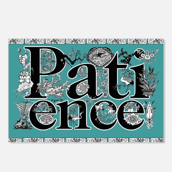 patience mousepad Postcards (Package of 8)