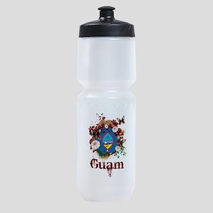 Butterfly Guam Sports Bottle