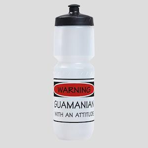 Attitude Guamanian Sports Bottle