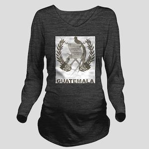 Vintage Guatemala Long Sleeve Maternity T-Shirt
