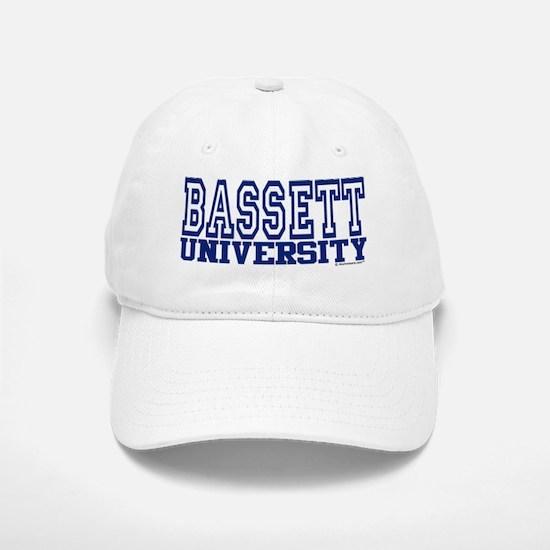 BASSETT University Baseball Baseball Cap