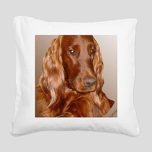 Irish Setter Square Canvas Pillow