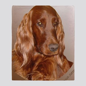 Irish Setter Throw Blanket