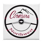 Corvairs Northwest Tile Coaster