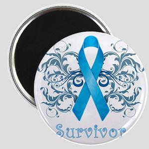 BlueCancerSurvivorDark Magnet