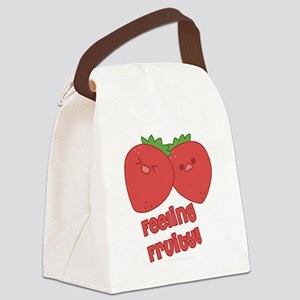 2-emFeelinFruity Canvas Lunch Bag