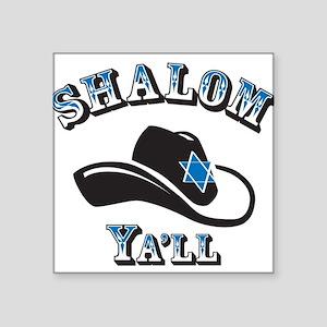 Shalom Yall Sticker