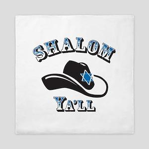 Shalom Yall Queen Duvet