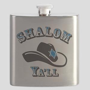 Shalom Yall Flask