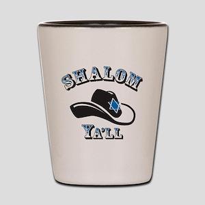 Shalom Yall Shot Glass