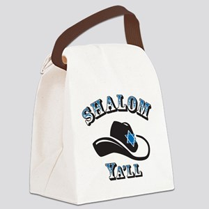Shalom Yall Canvas Lunch Bag