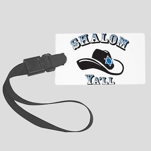 Shalom Yall Luggage Tag