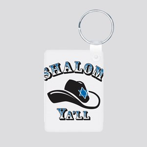 Shalom Yall Keychains