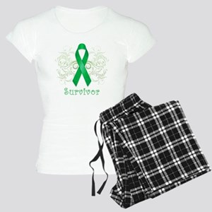 GreenCancerSurvivor Women's Light Pajamas