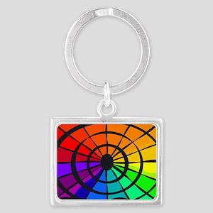 Gay Fan Thing Landscape Keychain