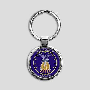 AFJROTC LOGO CIRCLE Round Keychain