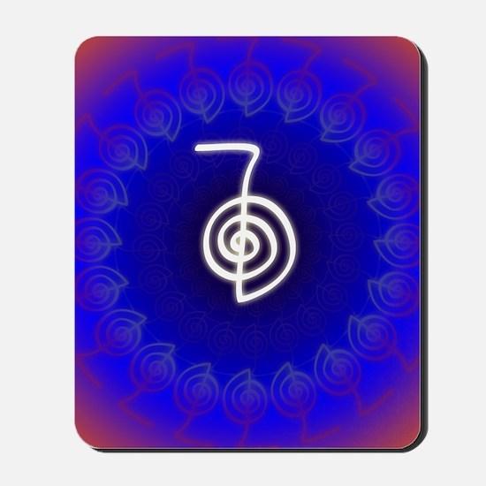 Cho-Ku-Rei-Reiki-Color-field Mousepad