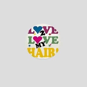 LOVE TO LOVE BLACK Mini Button
