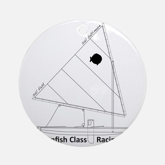 sunfish_baltimore Round Ornament