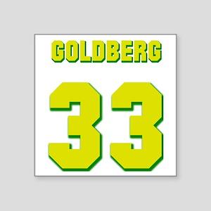"goldberg Square Sticker 3"" x 3"""