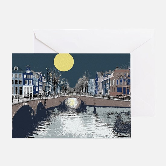 DutchBridge1abcx Greeting Card